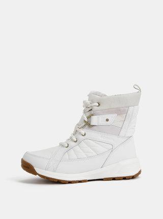 Biele dámske zimné nepromokavé topánky Columbia Meadows