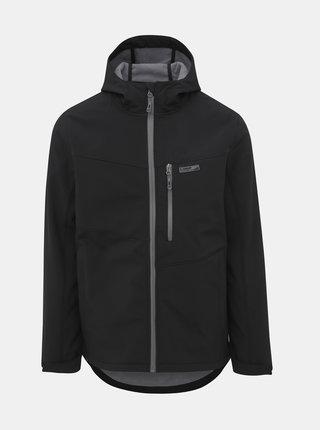 Čierna pánska softshellová bunda LOAP Lywon