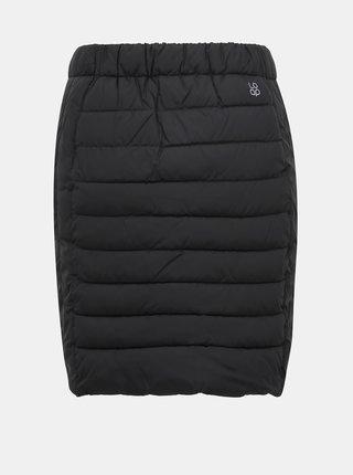 Čierna prešívaná vodeodpudivá sukňa LOAP Irfina