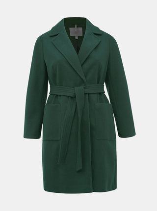 Tmavozelený kabát Dorothy Perkins Curve