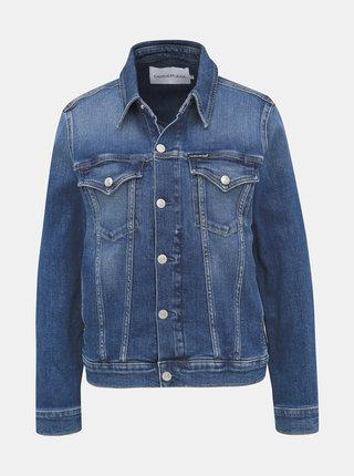 Modrá dámská džínová bunda Calvin Klein Jeans