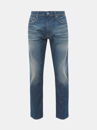 Modré pánske tapered fit rifle Calvin Klein Jeans