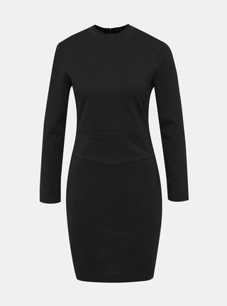 Černé pouzdrové šaty Calvin Klein Jeans