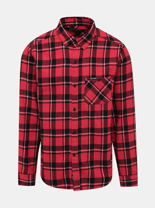 Červená kockovaná košeľa Horsefeathers Rashid