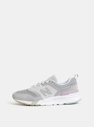 Šedé dámske semišové tenisky New Balance 997H