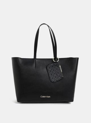 Čierna kabelka s odnímatelným púzdrom  Calvin Klein Jeans