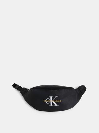 Černá ledvinka s potiskem Calvin Klein Jeans