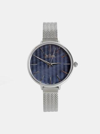 Dámské hodinky s kovovým páskem ve stříbrné barvě Lee Cooper