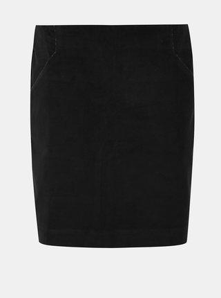 Čierna menčestrová sukňa Tranquillo Cursa