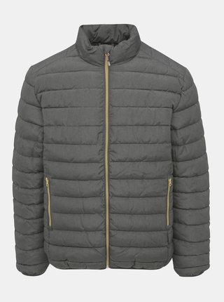 Tmavošedá prešívaná zimná bunda ONLY & SONS George