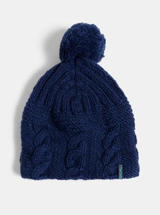 Tmavomodrá vlnená čapica Tranquillo Romeld
