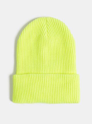 Neonově žlutá dámská čepice Haily´s Casy
