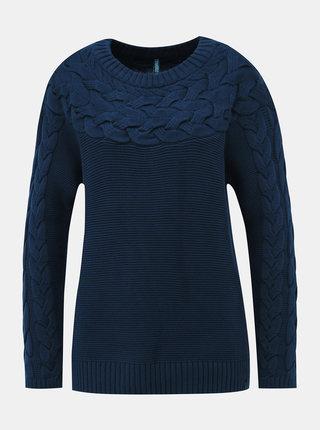 Tmavě modrý svetr Tranquillo Unuk