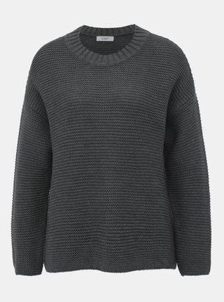 Tmavě šedý svetr Jacqueline de Yong Meadow