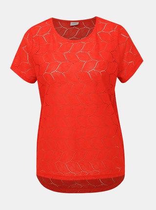 Červená krajková halenka Jacqueline de Yong Tag