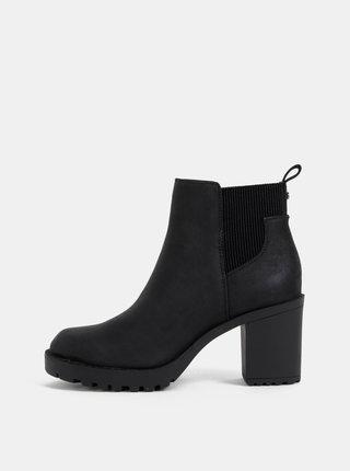 Čierne chelsea topánky ONLY Barbara