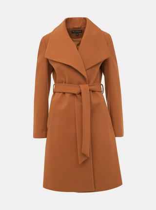 Hnedý kabát Miss Selfridge
