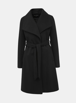 Čierny kabát Miss Selfridge