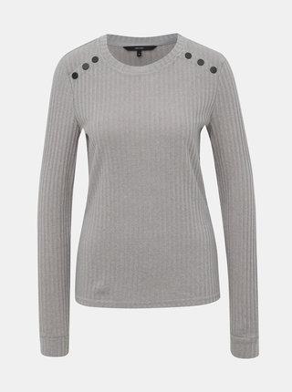 Šedý dámsky sveter VERO MODA