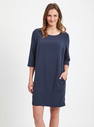 Tmavě modré šaty VILA Nathalia