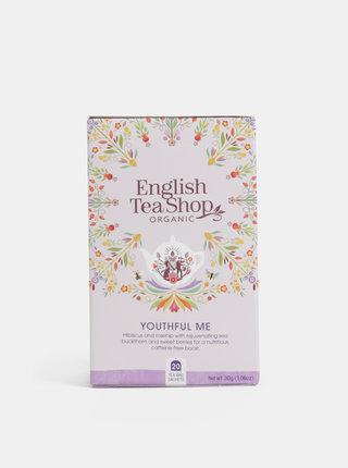 Bio bylinný čaj s ibištekom, šípkami a rakytníkom English Tea Shop Omlazení