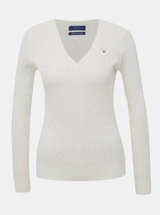 Biely dámsky sveter GANT