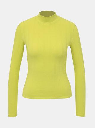 Neonově žluté tričko TALLY WEiJL