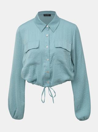 Modrá krátka košeľa TALLY WEiJL