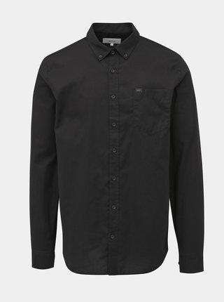 Čierna pánska regular fit košeľa Makia Flagship