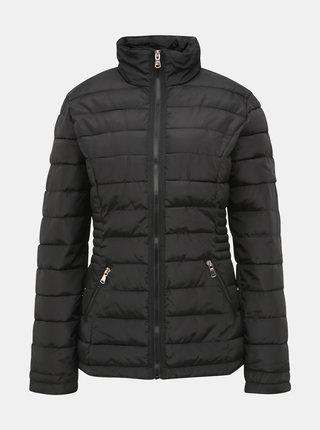 Černá prošívaná zimní bunda Dorothy Perkins Tall
