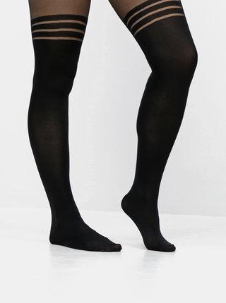 Černé punčochové kalhoty VERO MODA Sarah