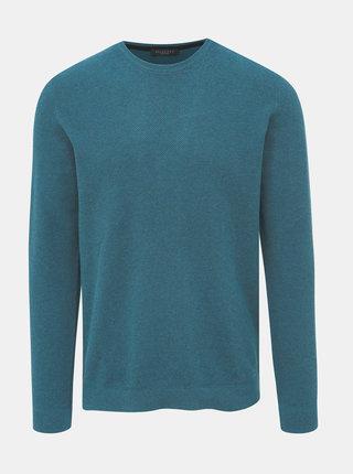 Modrý basic sveter Selected Homme Dante