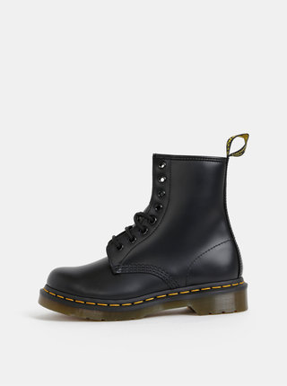 Černé dámské kožené kotníkové boty Dr. Martens 1460