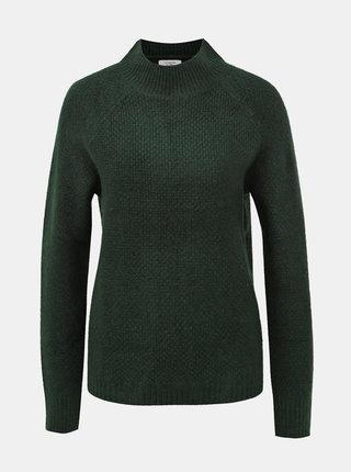 Tmavozelený sveter Jacqueline de Yong Crystel