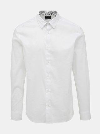Biela slim fit košeľa ONLY & SONS Enrico