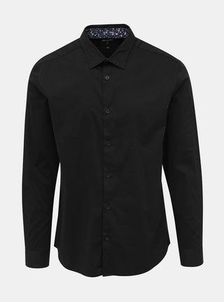 Čierna slim fit košeľa ONLY & SONS Enrico