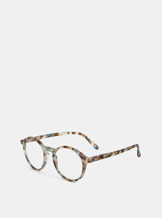Hnedo-modré vzorované ochranné okuliare k PC IZIPIZI #D
