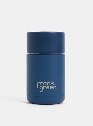 Tmavě modrý nerezový cestovní hrnek Frank Green 295 ml