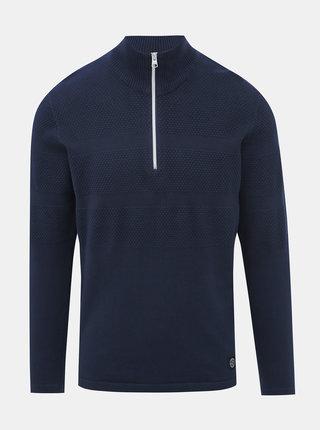 Tmavomodrý sveter Shine Original