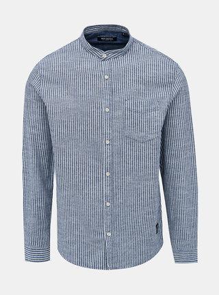Modrá pruhovaná košile Shine Original