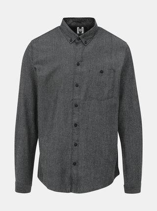 Šedá pánská košile Haily´s Check