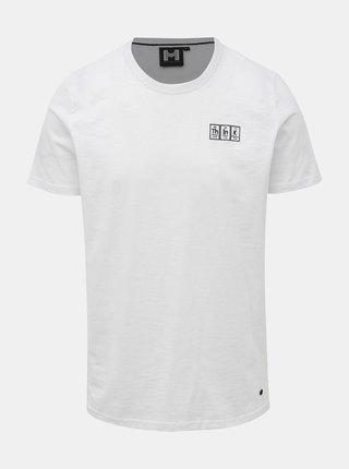 Biele pánske tričko s nášivkou Haily´s Logo