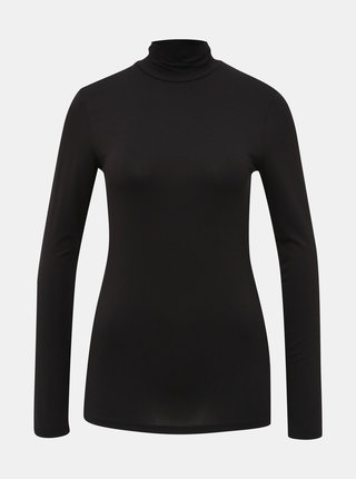 Černý basic rolák Selected Femme Mio