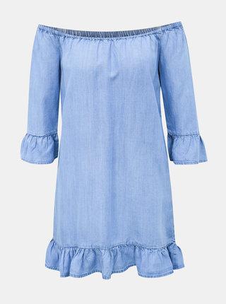 Světle modré džínové šaty Haily´s Karla