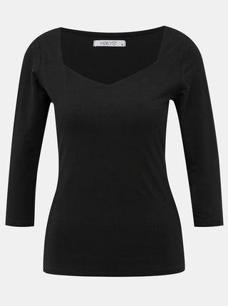 Čierne dámske basic tričko Haily´s Noa