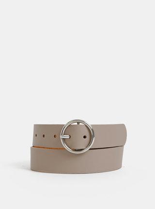 Béžový kožený pásek Haily´s Ludmilla
