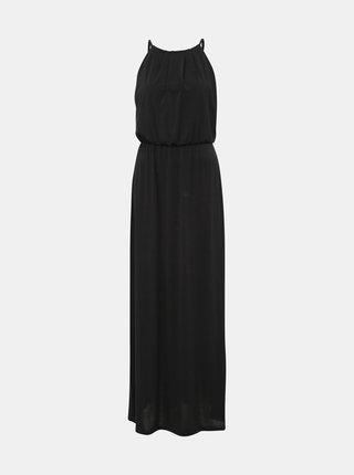 Černé maxi šaty s krajkou Haily´s Malia