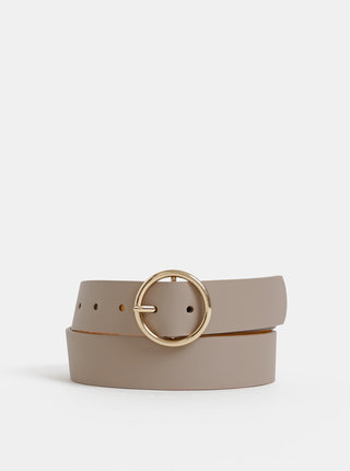 Béžový kožený pásek Haily´s Livia
