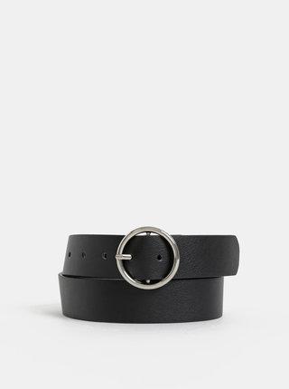 Černý kožený pásek Haily´s Ludmilla