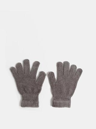 Šedé dámske rukavice Haily´s Jenny